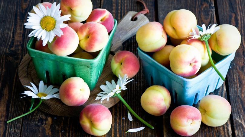 Персики в 3 месяца